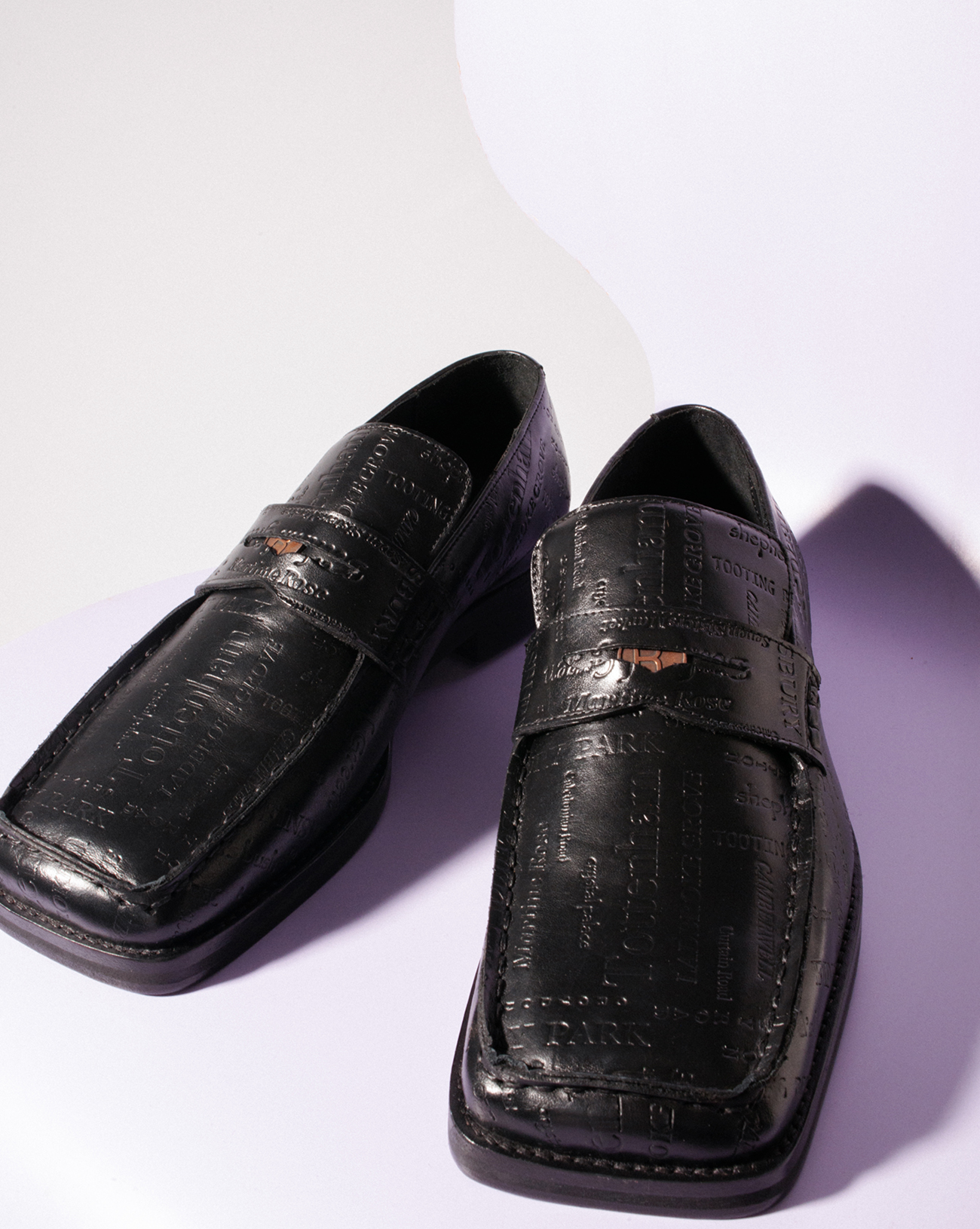 Original original martine rose loafers