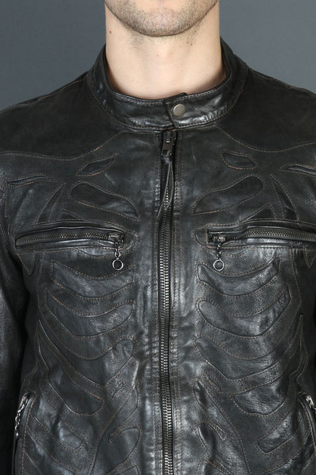 SKELETON JACKET BLACK image