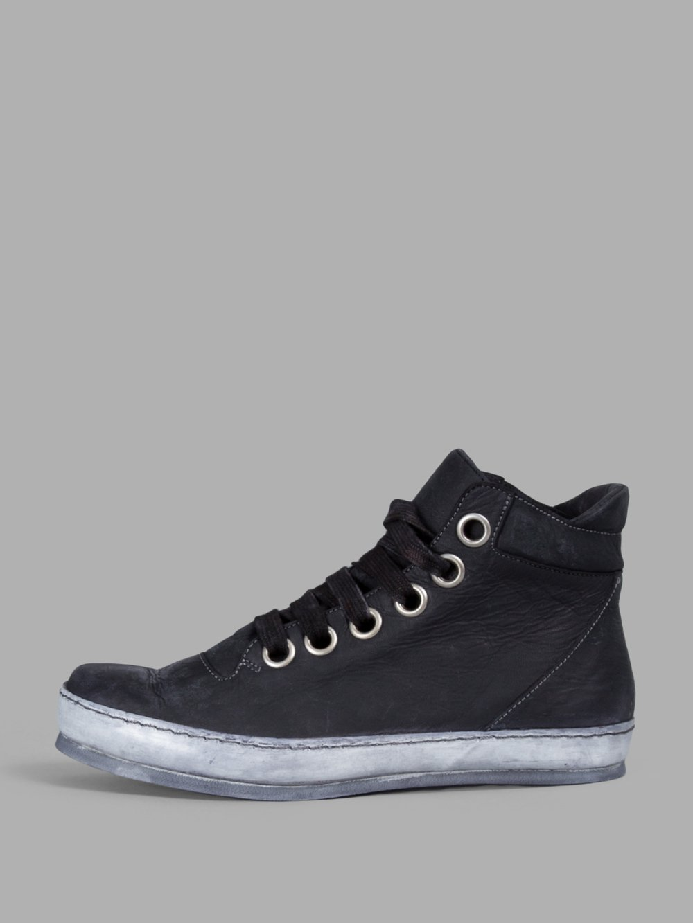 A DICIANNOVEVENTITRE A Diciannoveventitre Women'S Black Leather Sneakers