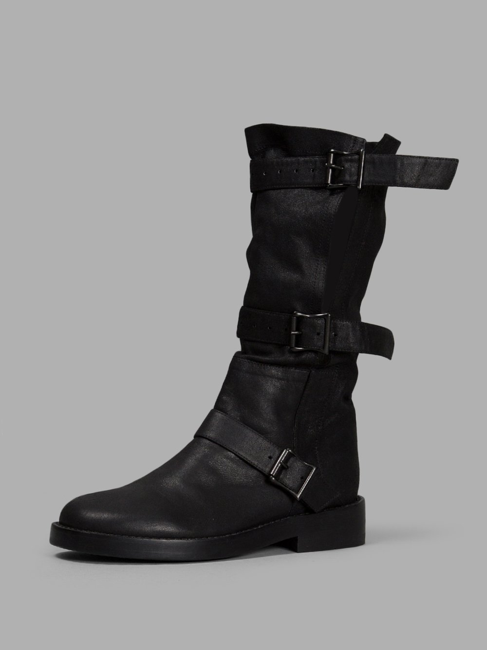 Black Buckle Boots Ann Demeulemeester Discount 2018 New Free Shipping Ewu2VtA8bY