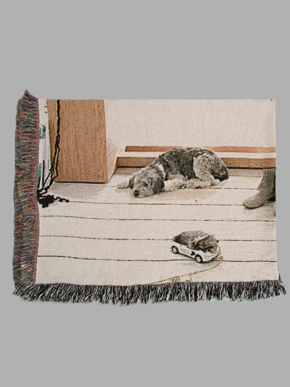 BLESS MULTICOLORED N.54 REMEMBRANCE SUBITO BLANKET