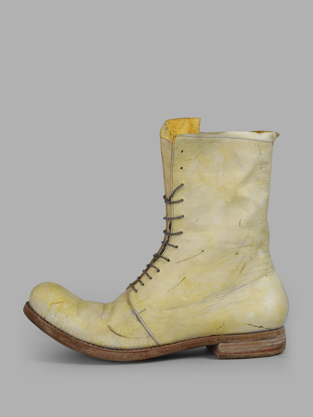 PALE YELLOW BOOTS