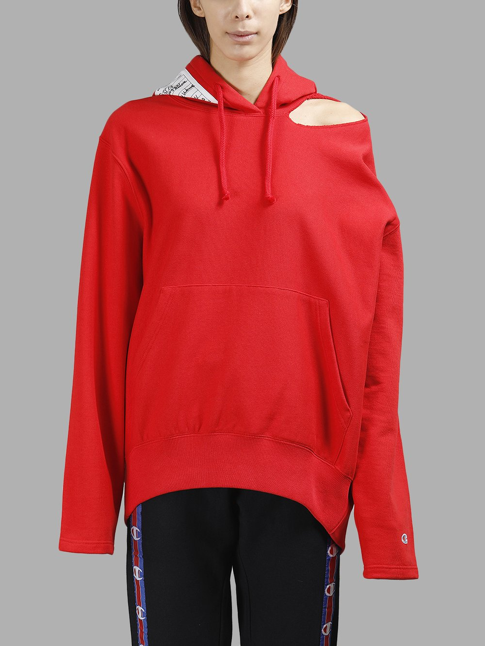 Vetements Sweaters WSS17CH4 RED