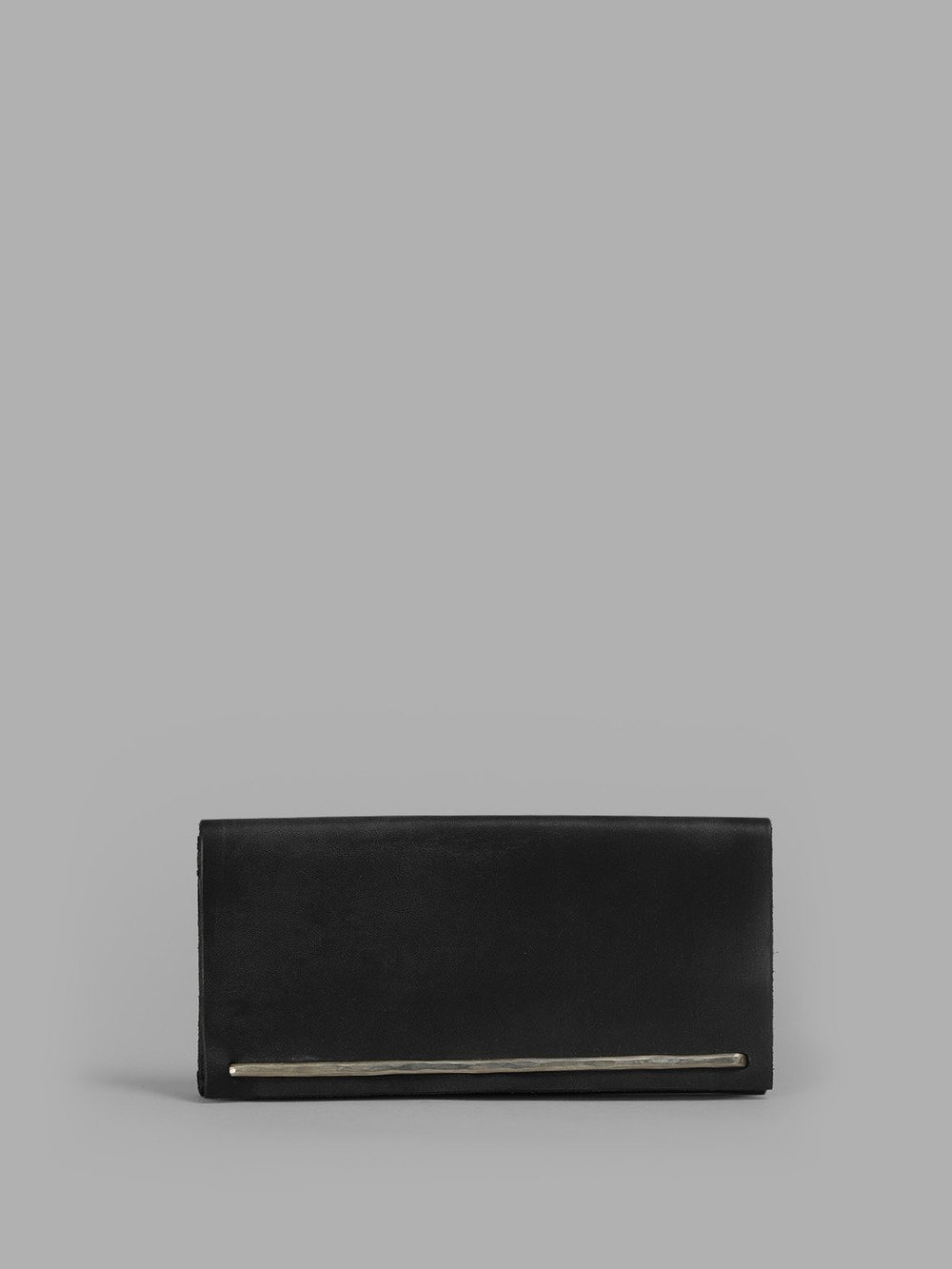 Werkstatt Munchen Note Black Case Brace Hammered Wallet