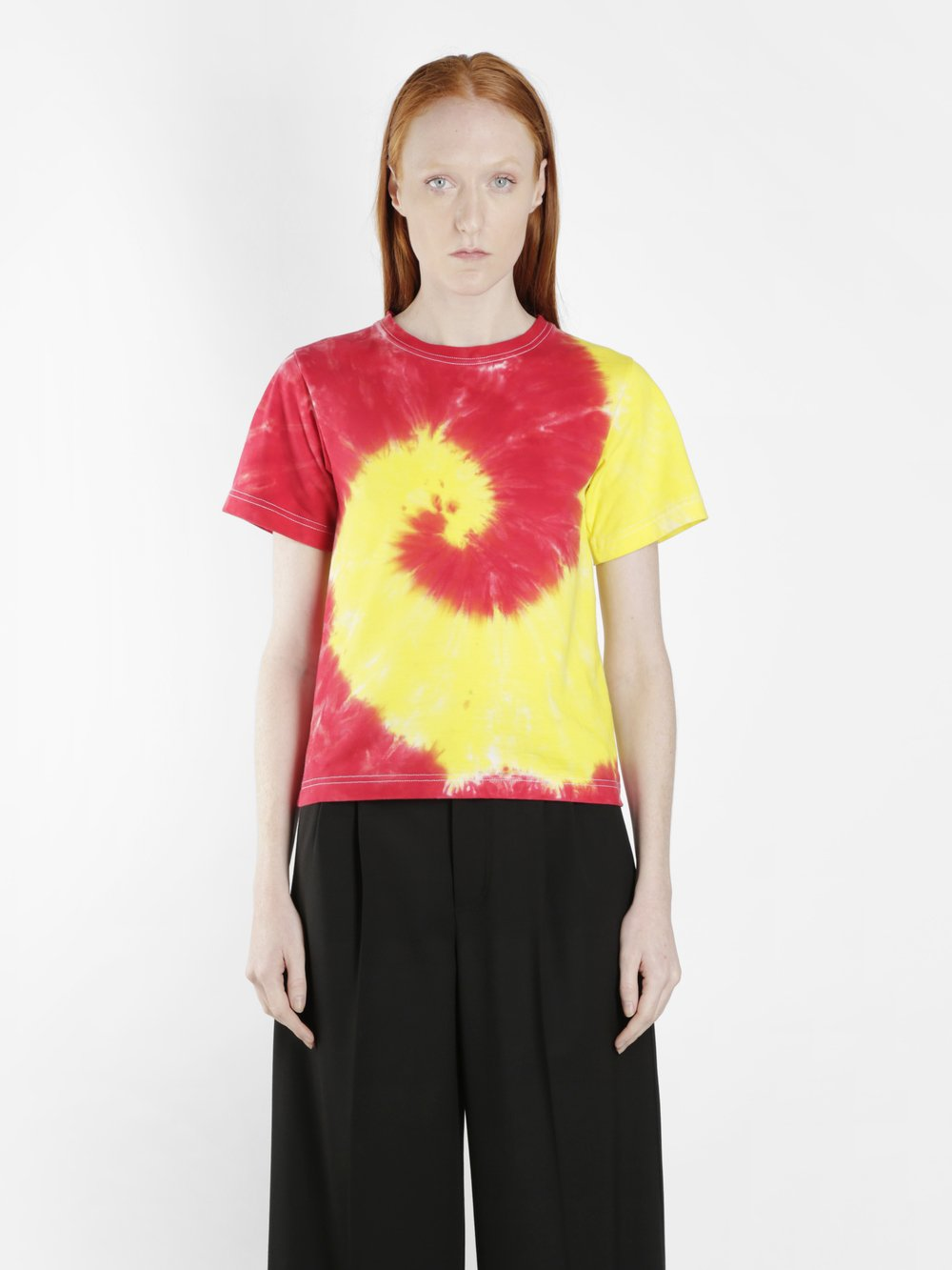 KWAIDAN EDITIONS WOMEN'S MULTICOLOR TIE DYE T-SHIRT
