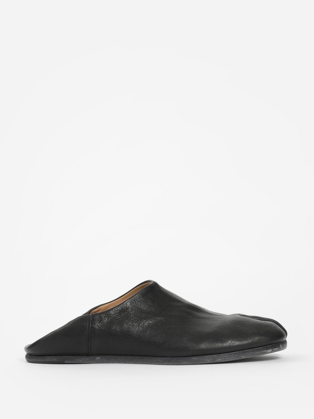 Tabi Collapsible-heel Split-toe Leather Loafers Maison Martin Margiela