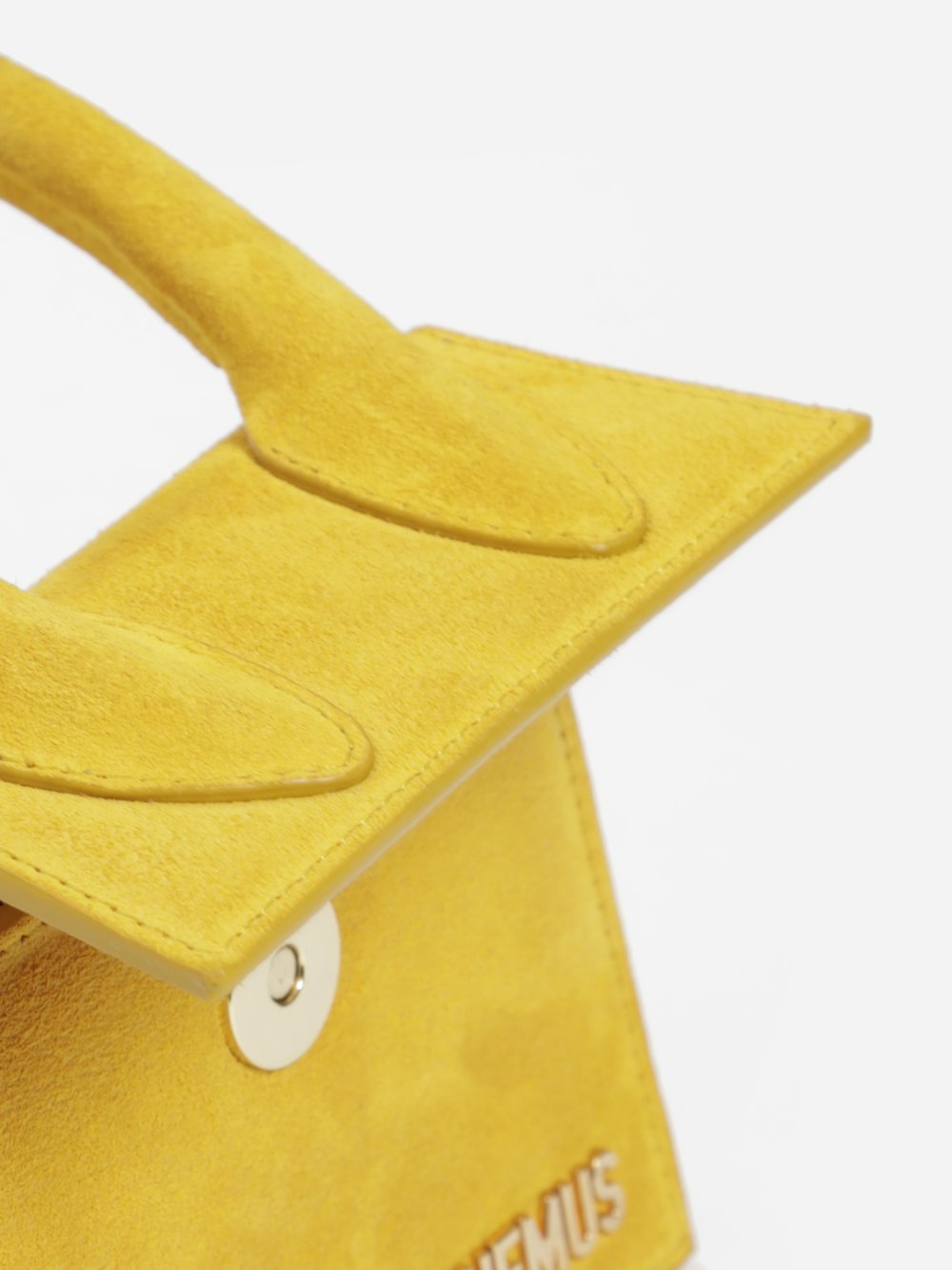 Jacquemus Le Sac Chiquito In Yellow