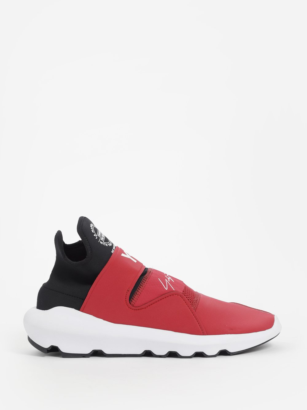 Y-3 Suedes Y-3 MEN'S RED SUBEROU SNEAKERS