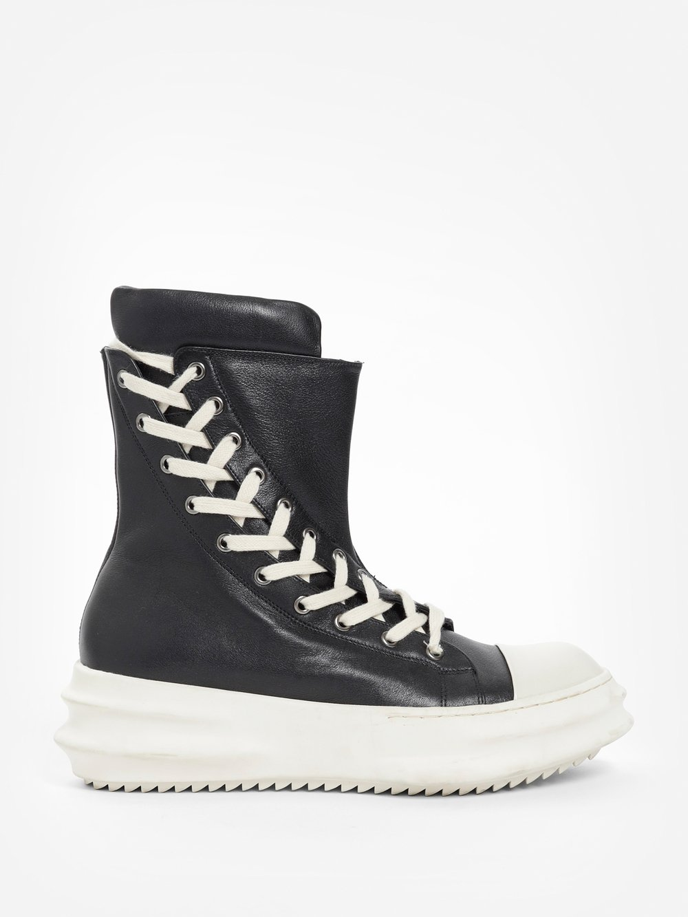 Black Back String High-Top Sneakers D.Gnak PHciD