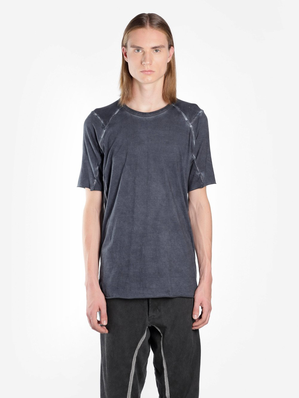 ISAAC SELLAM MEN'S GREY TEE