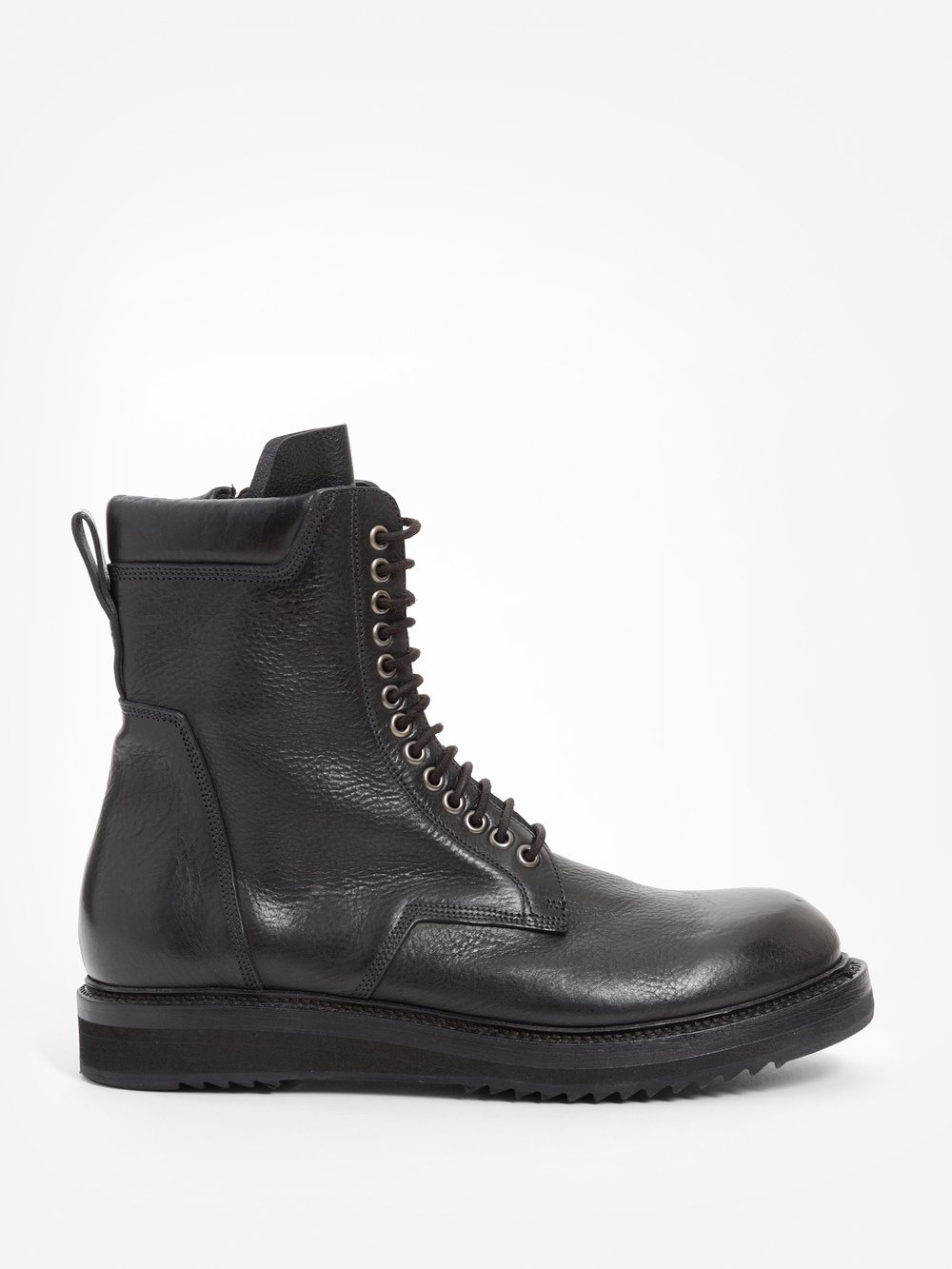 Black Low Army Classic Creeper Boots