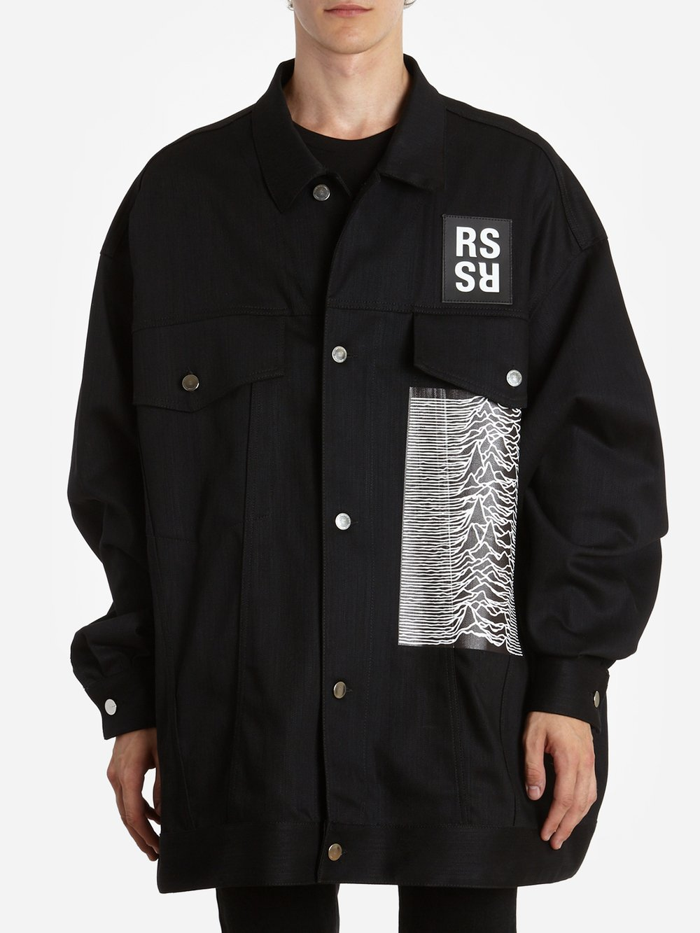 aead0b5ffca HomeCLOTHINGJacketsRaf Simons. 181 723 10033 black 1