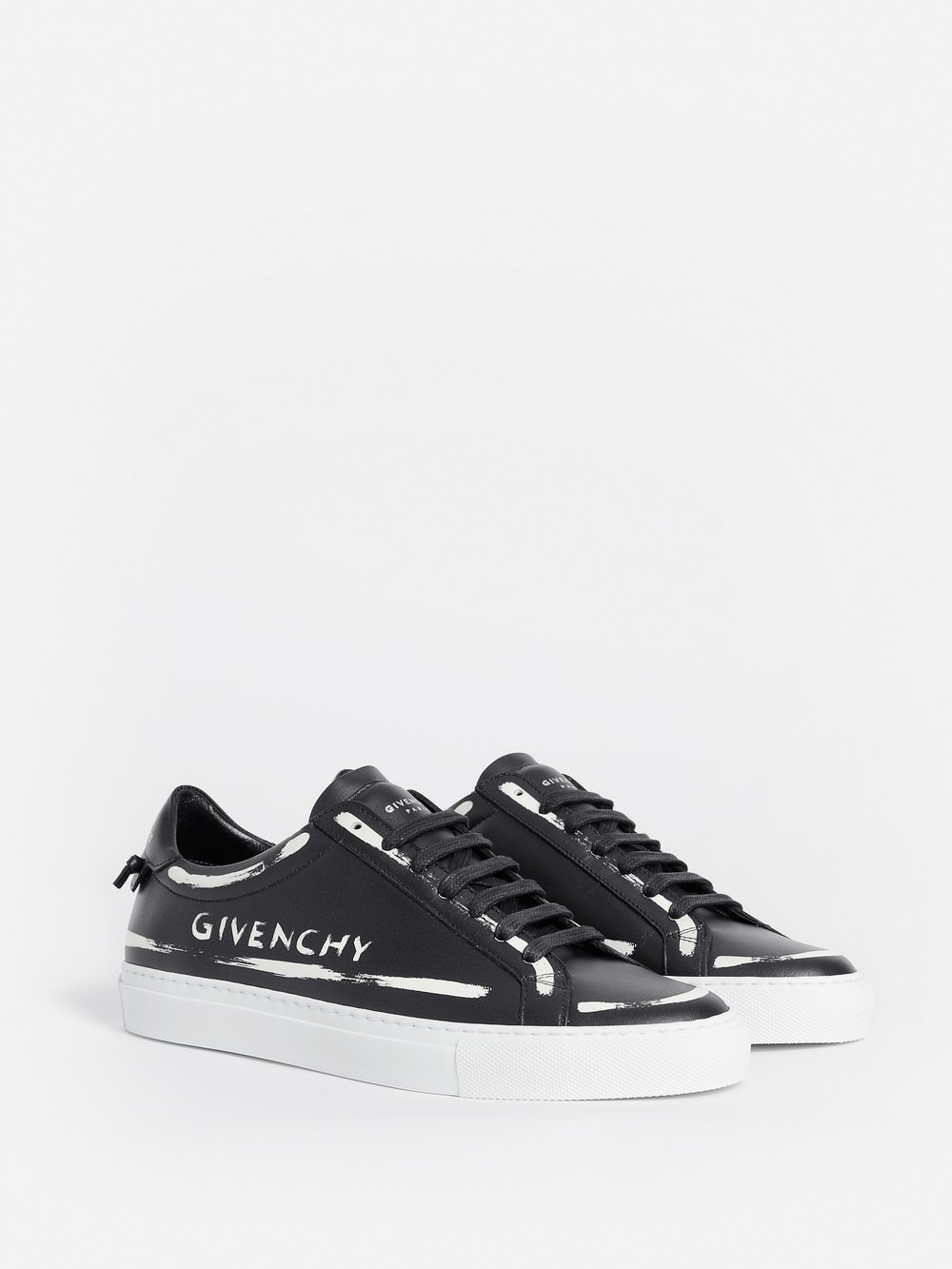 Givenchy Sneakers URBAN STREET leather grafitti white MG1l6llb