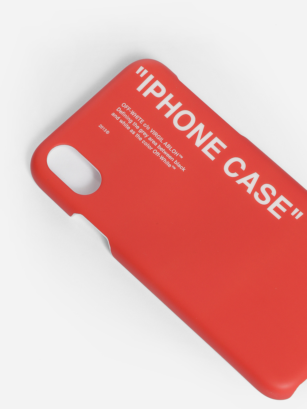 cheap for discount dfe98 1df78 Off-White c/o Virgil Abloh Cases OMPA007F182940152001