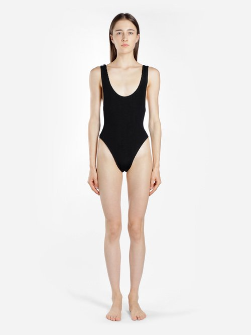 RUBYSCRUNCHSWIMSUIT BLACK image