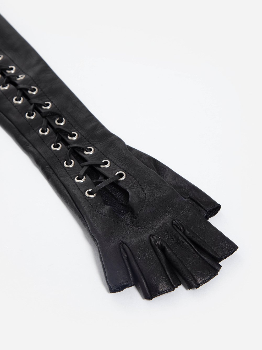 LONGLTGLOVES2 BLACK image