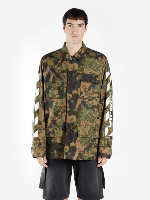Damen mantel army look