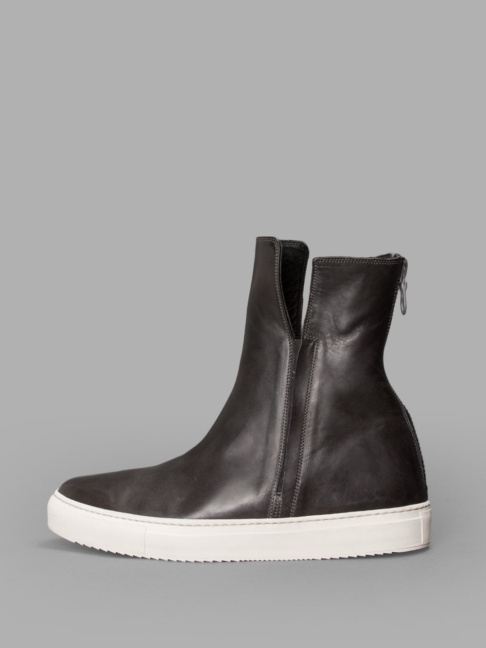 DELLE COSE Black High Top Sneakers